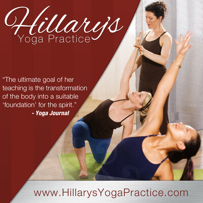 Hillary's Yoga Practice Podcast