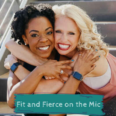 Fit and Fierce on the Mic.