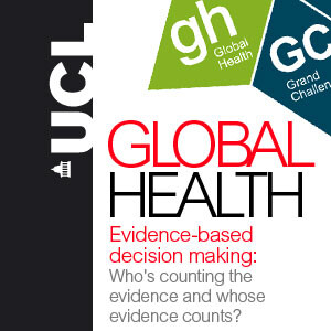 Evidence-based decision making: Who's counting the evidence and whose evidence counts? - video