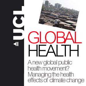 Global health and climate change - Audio