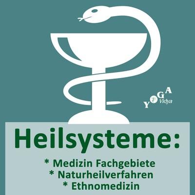 Heilsysteme: Medizin Fachgebiete, Naturheilverfahren, Ethnomedizin