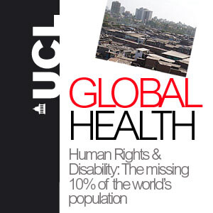 Human rights and disability - The missing 10% of the world's population - Audio