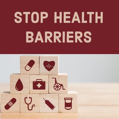 StopHealthBarriers podcast