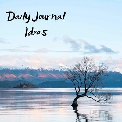 Daily Journal Ideas