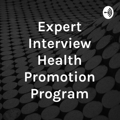 Expert Interview Health Promotion Program
