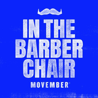 Movember: In The Barber Chair