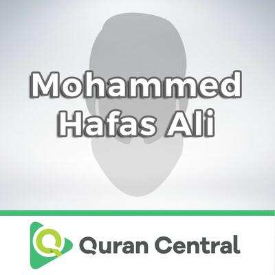 Mohammed Hafas Ali