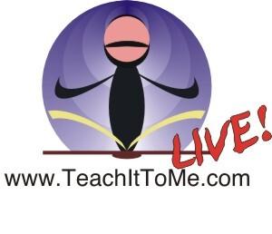 TeachItToMe.com - Live!