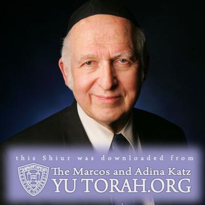 YUTORAH: R' Dr. Aharon Lichtenstein -- Recent Shiurim