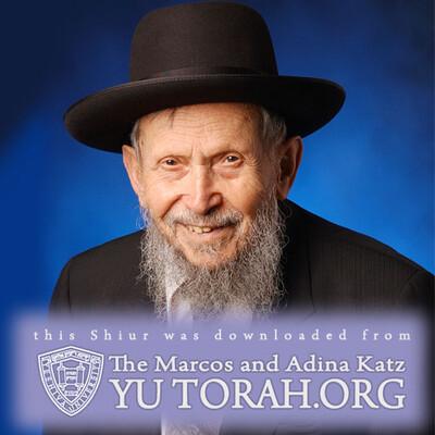 YUTORAH: R' Gershon Yankelewitz -- Recent Shiurim