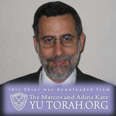 YUTORAH: R' Menachem Genack -- Recent Shiurim