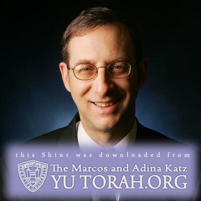 YUTORAH: R' Michael Rosensweig -- Recent Shiurim