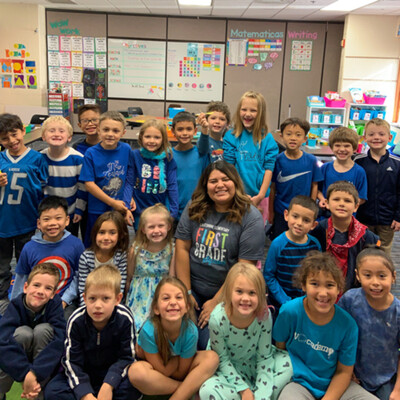 First Grade with Ms.Nazario