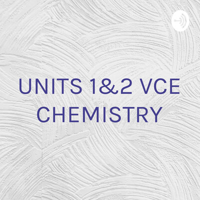 UNITS 1&2 VCE CHEMISTRY - THE FUN WAY