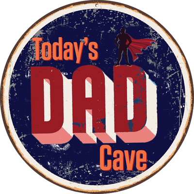 Today's Dad Cave