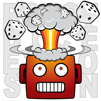 Robot Dice Explosion