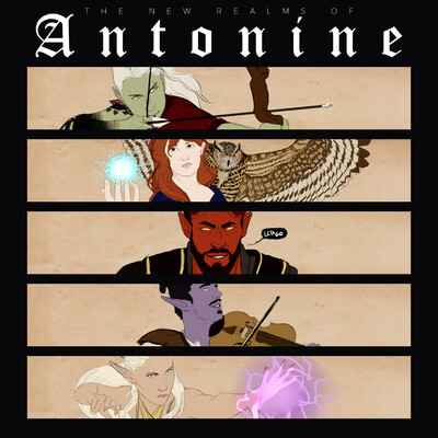 New Realms of Antonine