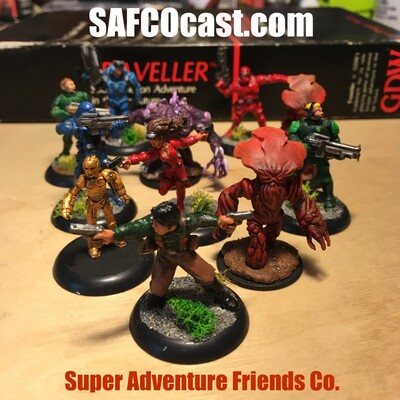 Super Adventure Friends Co. Podcast