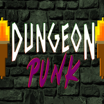 DUNGEONPUNK - Green Sneakers Media