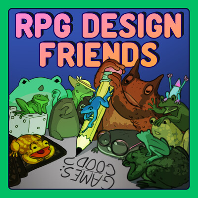 RPG Design Friends - A Critical Tabletop Podcast