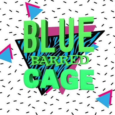 Blue Barred Cage
