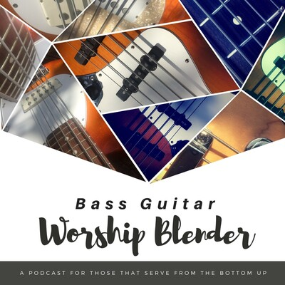 Bass Guitar Worship Blender
