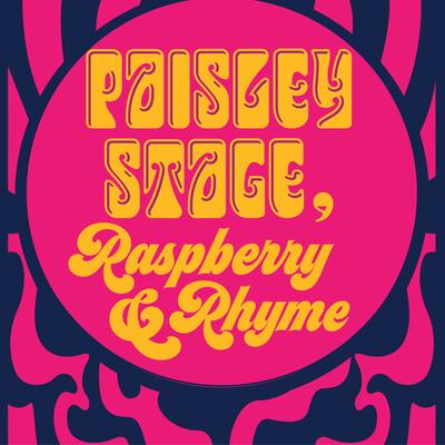 Paisley Stage, Raspberry & Rhyme