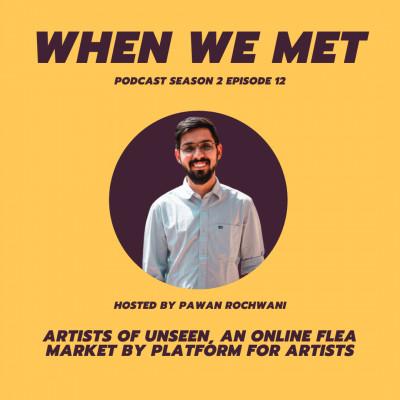 Artists of UNSEEN, an online flea market by Platform For Artists
