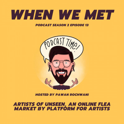 Artists of UNSEEN, an online flea market by Platform For Artists