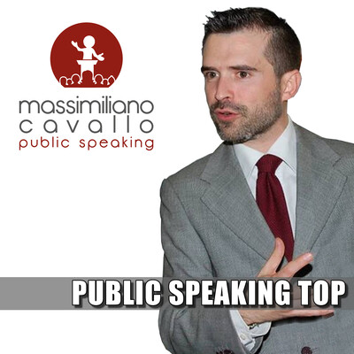 Massimiliano Cavallo Public Speaking Top