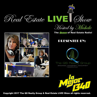 """Real Estate LIVE! with Michele """"The Queen of Real Estate Radio!"""""""