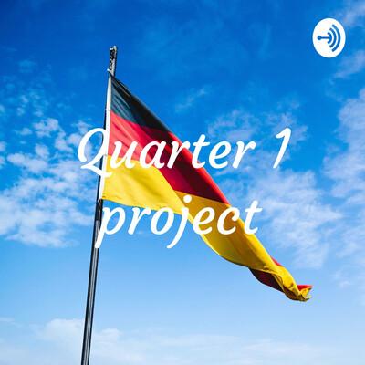 Quarter 1 project