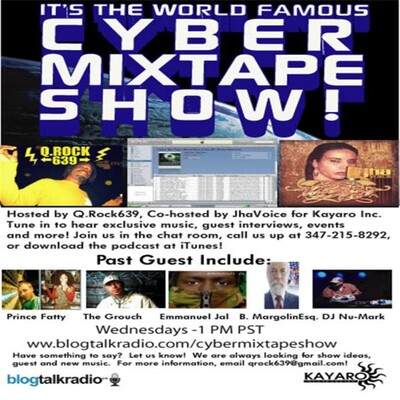 Cyber Mix Tape Show-Part of the BC Radio Network.