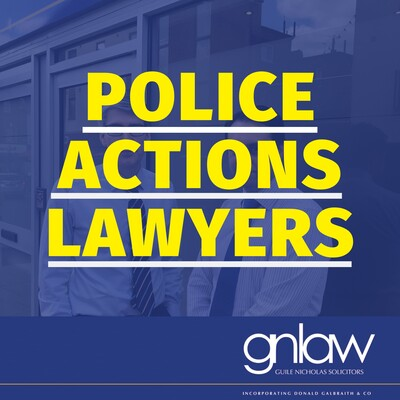Police Actions Lawyers