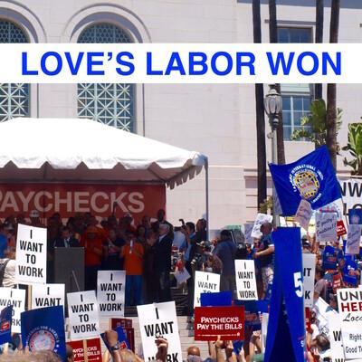 Love's Labor Won
