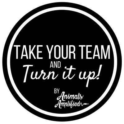 Take Your Team and Turn It Up! Leadership - Animal Training - Personal Growth