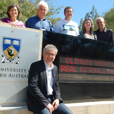 Climate podcasts from the University of Western Australia