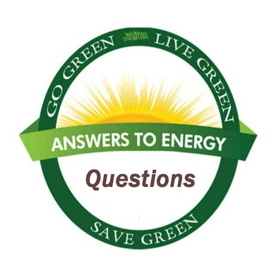 Answers To Energy Questions