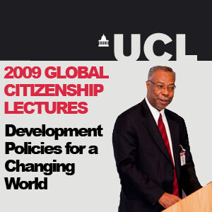 Development Policies for a Changing World - Global Citizenship Lecture - Audio