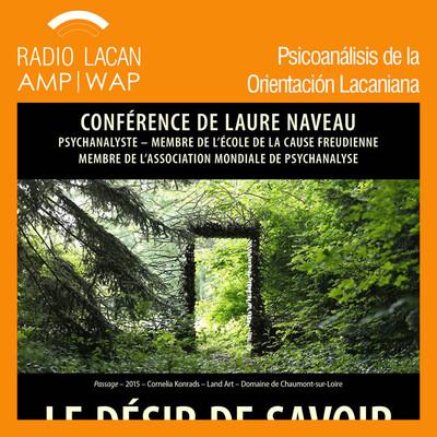"""Conferencia de Laure Naveau en Nantes, """"El deseo de saber""""."""
