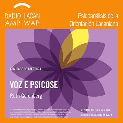 """Conferencia en el CLIPP- ICF de San Pablo: """"Voz y psicosis"""""""