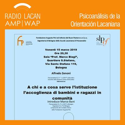 """Conferencia pública organizada por la Secretaría de Bolonia de la SLP y por la Fundación Augusta Pini """"¿A quién y a qué sirve la institución?"""""""