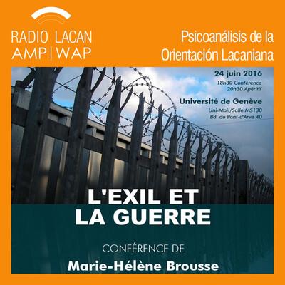 Conferencia: El exilio y la guerra