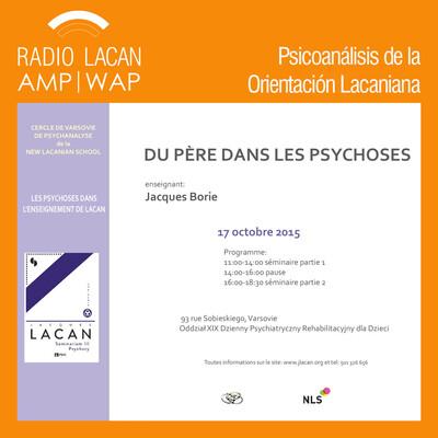 """Círculo de Varsovia de psicoanálisis de la NLS: """"Sobre el padre en la psicosis"""" (primera conferencia)"""