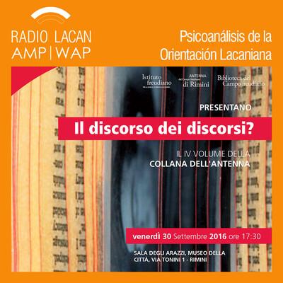 Ecos de Rimini: Il discorso dei discorsi?. A propósito del Seminario XVIIl de Jacques Lacan