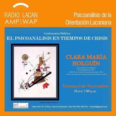 Reseña sobre las conferencias de Clara Holguín, Presidente de la NEL.