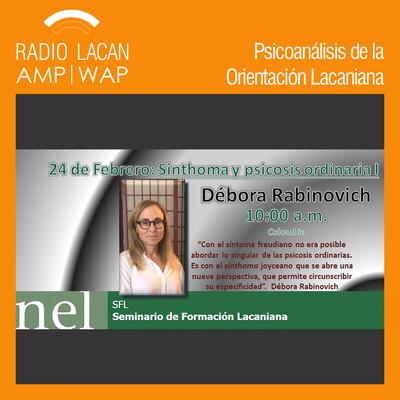 """Seminario de Formación Lacaniana: """"Sinthoma y psicosis ordinaria"""""""