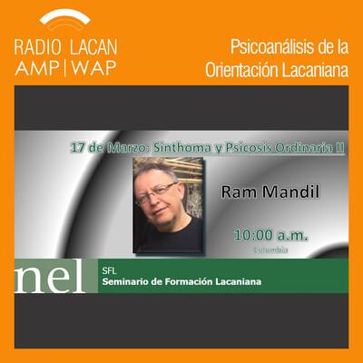 """Seminario de Formación Lacaniana: """"Sinthoma y psicosis ordinaria II"""""""