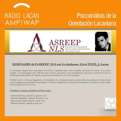 Seminario de la ASREEP-NLS sobre El sinthome, Libro 23, de Jacques Lacan.
