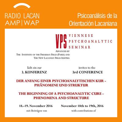 Terceras Jornadas del Seminario Psicoanalítico Vienés (VPS): El comienzo de la cura psicoanalítica